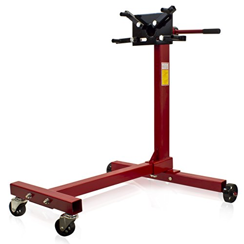 Best Choice Products SKY359 Engine 1000 lb. Pro Stand Hoist Lift Automotive Tools Shop Equipment New