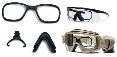 Smith Optics 2015 Elite Tactical Interchangeable Rx Replacement Kit - for OTW/ AEGIS/ PIVLOCK ECHO - PACK OF 25 (Black)