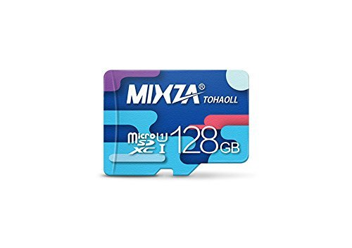 Performance Grade 128GB Alcatel MicroSDXC Card by MIXZA is Pro-Speed, Heat & Cold Resistant, and built for Lifetime of Constant Use! (UHS-I/3.0/80MB/s) by MIXZA
