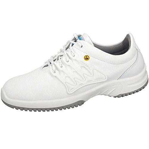 Abeba 31760-45 Uni6 Chaussures de sécurité bas ESD Taille 45 Blanc