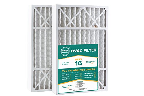 MERV 8 Aftermarket Comfort Plus Replacement Filter 2 Pack 16x26x5 16.13x25.75x4.88