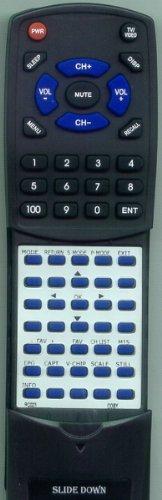 Replacement Remote Control for COBY TFTV3717, TFTV2204, TFTV3207, TFTV3217, RC023