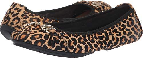 Too Leather Women's Haircalf Tan Shoe Me Jag Flat Black Mini OLYMPIA1 fqBtEZw