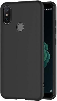 AICEK, Funda Xiaomi MI A2 compatible conXiaomi MI 6X,Negro ...