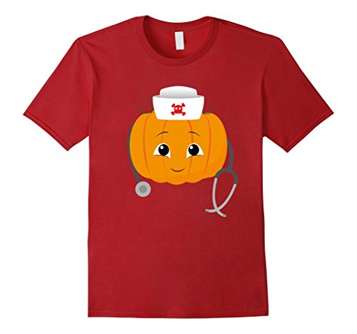 Cute Nurse Halloween Costumes (Mens Nurse Costume Halloween T-Shirt Funny Cute Gift Large Cranberry)