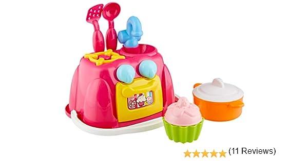Theo Klein-2251 Barbie Playa Cocina, Juguete, Multicolor (2251): Amazon.es: Juguetes y juegos