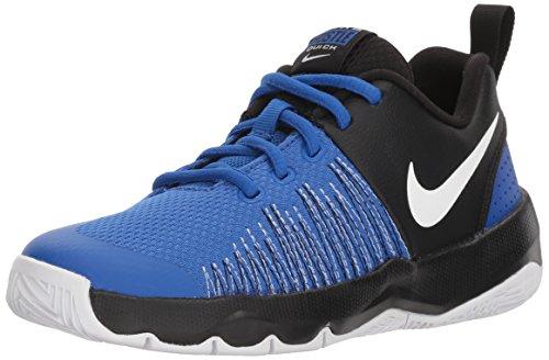 online retailer 74d42 efff8 NIKE Boys  Team Hustle Quick (GS) Basketball Shoe, Game Royal White