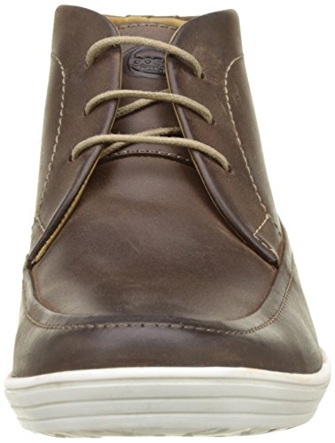 Base London Venue, Botines para Hombre Marron (Brown Pull Up)