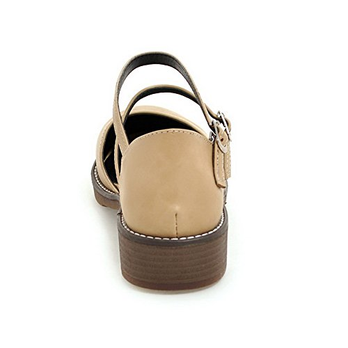 Abricot Compensées Sandales Femme AdeeSu Jaune 36 5 vxF6qWwS7n