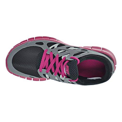 Nike Free Run + 2 Ext Damesko Sort / Kølige Grå / Sport Fuchsia 536.746 Til 001 psLDA529