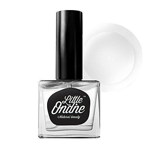 Little Ondine Non-toxic Zero Smell Wide Brush Matte Top Coat, Dries in 45 Seconds