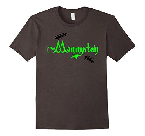 Mens Mommystein Mom Mommy Frankenstein Couples Halloween T-Shirt XL Asphalt