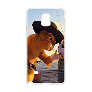 Elaboration Case Puss in Boots For Samsung Galaxy Note 4 N9100 NC1Q02667