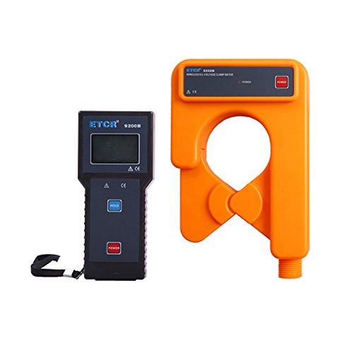 Digital meter- Wireless H/L Voltage Clamp Current Meter High voltage leakage current meter line alternating current detector ETCR9200B, Amp Ohm Volt Meter: DIY & Tools