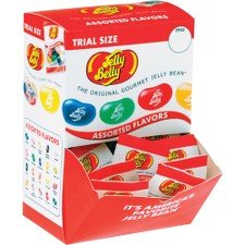 Jelly Belly Trial Size Gourmet Jelly Bean Pack - Case of 80 by Marjack