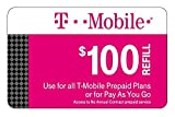 T-Mobile 100 dollars ToGo Prepaid Refill Card 1000 Minutes