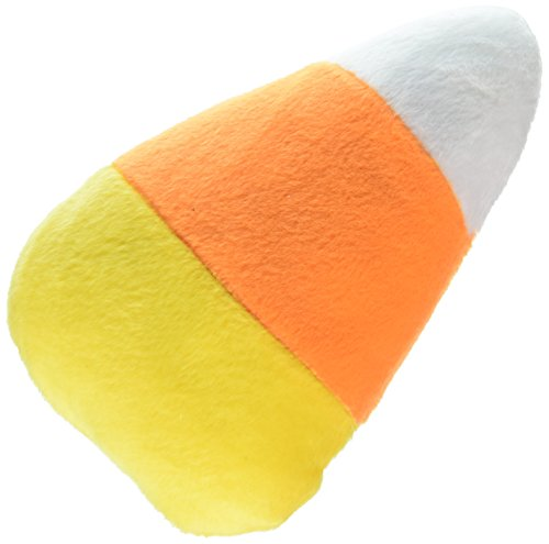 Mirage Pet Products Halloween Plush Toys Candy Corn, Large (Cat Dog Halloween)