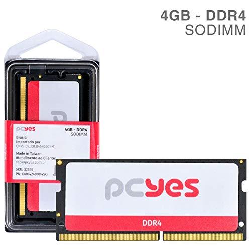 Memoria Pcyes 4GB DDR4 - Pm042400D4So