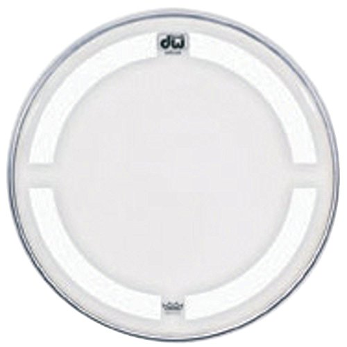 Bass Drum Heads 22 inch, Clear W/ Coated - Head Coated Bass