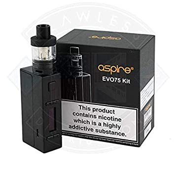 Aspire EVO 75 Vape Kit (Black): Amazon co uk: Health