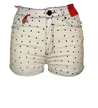 10 12 14 NEXT Ladies Jeans Shorts Women/'s Summer Casual Khaki Hot Pants