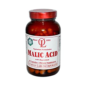 New - Olympian Labs Malic Acid with Magnesium - 90 Vegetarian Capsules