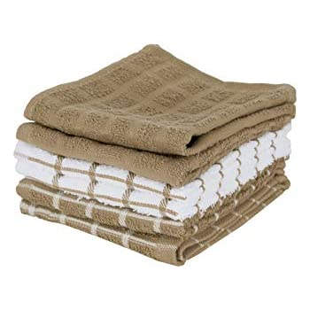 Ritz 100% Terry Cotton, Highly Absorbent Dish Cloth Set, 12