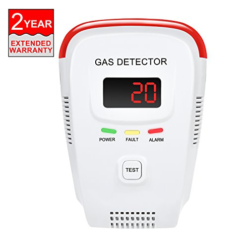 Chudong Plug In Natural Gas Detector Portable Device Able To Detect Lpg Lng And Coal Gas Avoid Gas Leak Sensor Detector With Voice Warning And Digital Display