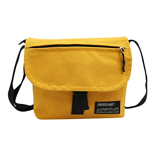 Hip Hop Street Freestyle Crossbody Bag Canvas Shoulder Messenger Bag Phone Pouch