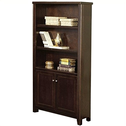 Martin Furniture Tribeca Loft Cherry Library Bookcase - Fully Assembled