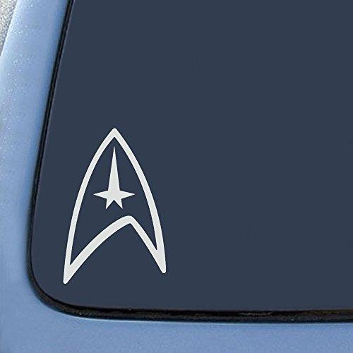 Star Federation Logo Sticker Decal Notebook Car Laptop 5