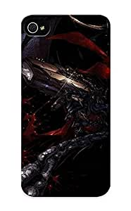 Durable Defender Case For Iphone 5/5s Tpu Cover(spawn)
