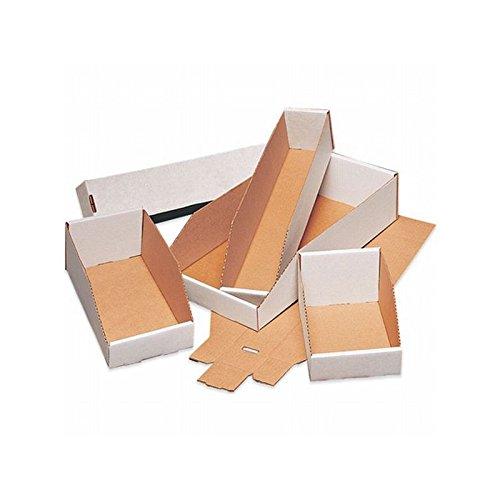 パッケージボックスホワイトCorrugated Open Top Bin /ボックス、オイスターホワイト – 50のケース 12