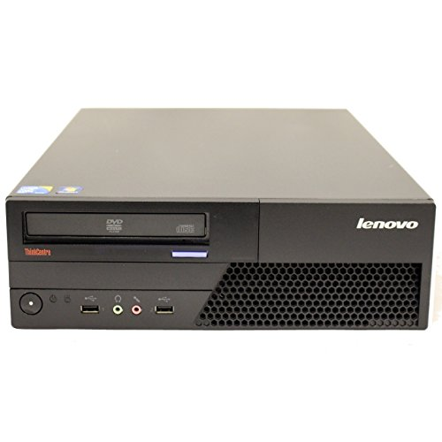 Lenovo ThinkCentre M58 Premium Small Form Factor Business Desktop Computer PC (Intel Core 2 Duo 3.0GHz, 4GB RAM, 160GB HDD, Wireless WIFI) Windows 10 Professional (Certified Refurbished) by Lenovo (Image #1)