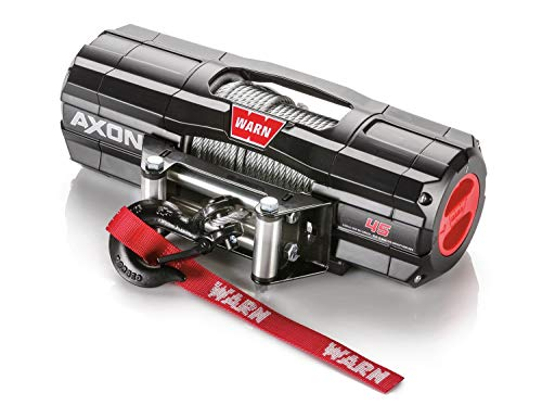 (WARN 101145 AXON 45 Powersports Winch With Steel Rope)