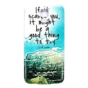 LIMME- Landscape Pattern Thin Hard Case Cover for Samsung Galaxy S5 I9600