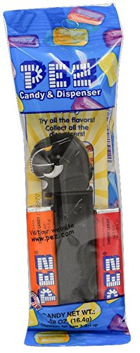 PEZ Power Rangers Assorted Candy Dispensers, 0.58 Ounce (Black (Storm 90s Costume)