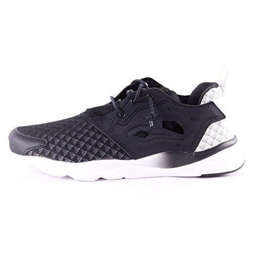 Reebok CLASSIC FURYLITE SHEER Chaussures Sneakers Mode Femme Noir Reebok CLASSIC