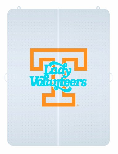 NCAA Tennessee Volunteers Lady Vols Logo Foldable Hard Floor Chairmat by ES Robbins