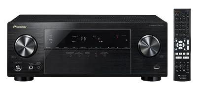 Pioneer Channel AV Receiver, VSX-523-K (Black)
