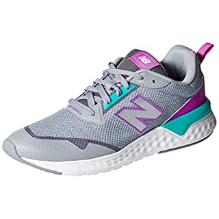 New Balance Women's 515 Sport V2 Fresh Foam Sneaker, Steel/VERDITE, 6 M US