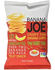 Banana Joe Crispy Thin Layers Banana Chips, Thai Sweet Chili, 50g