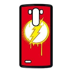 LG G3 Cell Phone Case Black Flash Emblem Drip Jmltl