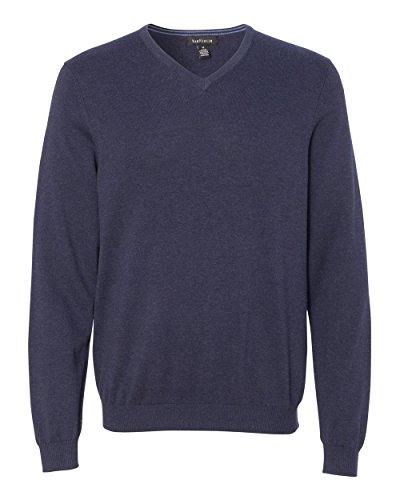 Van+Heusen+Mens+V-Neck+Sweater-13VS003-SM-Navy