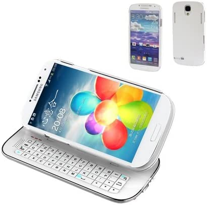 Amazon Com Qq Tech Samsung Galaxy S4 Siv I9500 Ultra Slim Slide Out Detchable Multifunction Wireless Bluetooth Keyboard Case Sliding Adajustable Standing Backlight Specially Designed With Solid Protective Back Shell Case Cover White