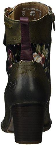 Bugatti Kvinnor Boots Grönt, (mörkgrön / Multicol) 411.333.323.030-7181 Mörkgrön / Multicol