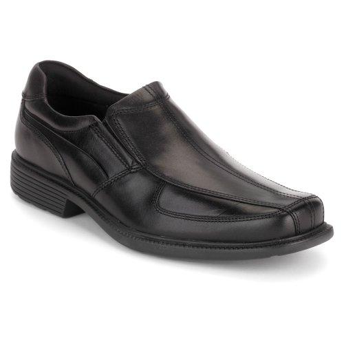 rockport mens dress slip on shoes size 8 5 m k57539 lesner