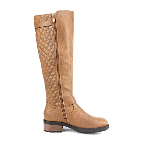 DREAM PAIRS Women's Knee Length Boots