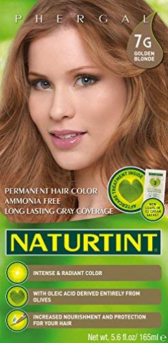 Naturtint Permanent Hair Color - 7G Golden Blonde, 5.6 fl oz (6-pack)