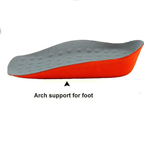 MagiDeal Woen's In-Sock Arch Support Height Increase Heel Lift Shoe Insert Cushion Pads 6GfifJYLP3